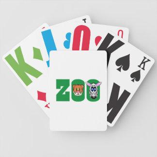 PARQUE ZOOLÓGICO CARTAS DE JUEGO