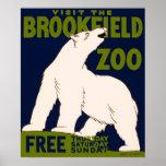 Parque zoológico Chicago, Illinois - poster de Bro