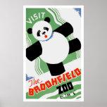 Parque zoológico de Brookfield de la panda WPA 193 Posters
