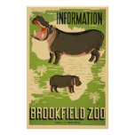Parque zoológico de Brookfield Impresiones