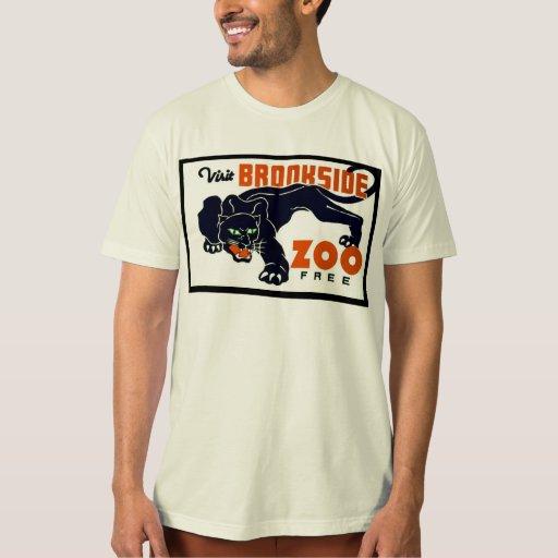 Parque zoológico de Brookside de la visita libre - Playeras