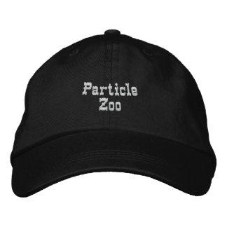 Parque zoológico de la partícula gorra bordada