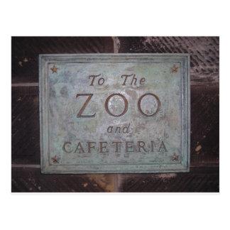 Parque zoológico del Central Park Tarjeta Postal