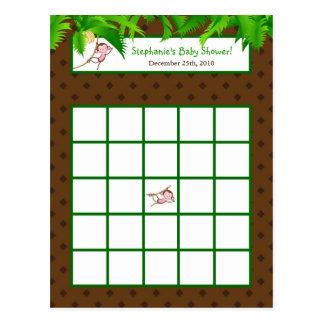 Parque zoológico programable del safari de selva d tarjetas postales