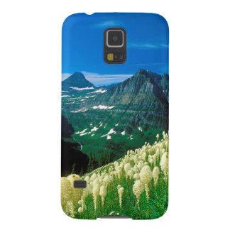 Parquee el glaciar Montana del rastro de Highline Carcasa De Galaxy S5