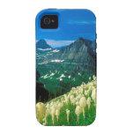 Parquee el glaciar Montana del rastro de Highline iPhone 4/4S Carcasa