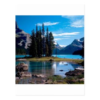 Parquee el jaspe Alberta Canadá de Great Outdoors Postales