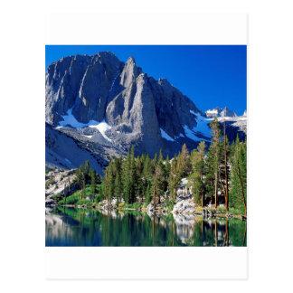 Parquee el primer lago Sierra Nevada Postal