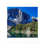 Parquee el primer lago Sierra Nevada Tarjetas Postales