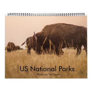 Parques nacionales de los E.E.U.U. Calendario