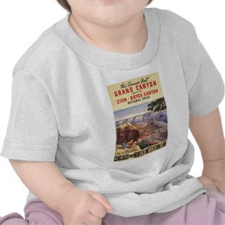 Parques nacionales del Gran Cañón Camiseta