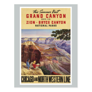 Parques nacionales del Gran Cañón Tarjetas Postales