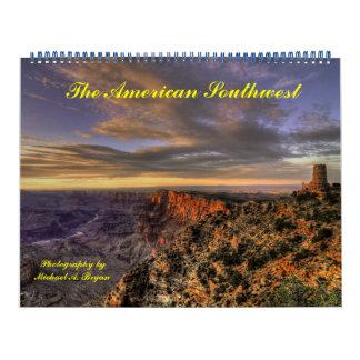 Parques nacionales del sudoeste americano - calendario de pared