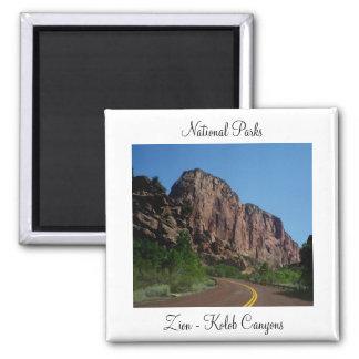Parques nacionales - imán de los barrancos de Zion