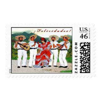 Parranda Campesina Boricua Stamp