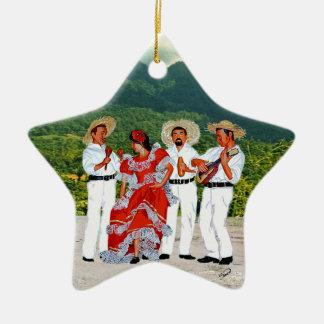 Parranda Jíbara Christmas Tree Ornaments