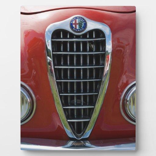 Parrilla 2 de Alfa Romeo Giulia Placa