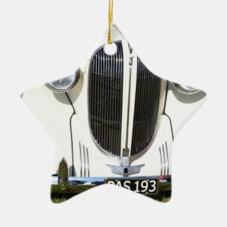Parrilla clásica de V8 de los años 30 Adorno De Navidad