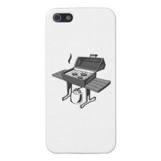 Parrilla de la barbacoa iPhone 5 cárcasa