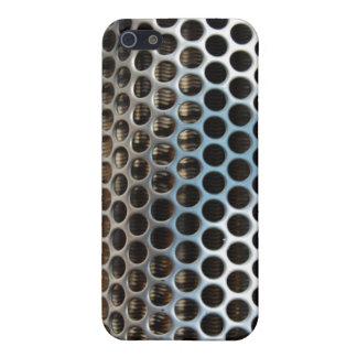 Parrilla de radiador del metal iPhone 5 carcasa