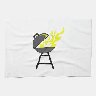 PARRILLA DEL BBQ TOALLAS