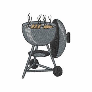 Parrilla del carbón de leña sudadera con capucha