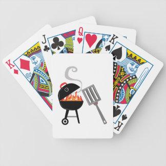 Parrilla del fuego baraja de cartas