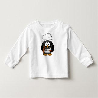 Parrilla del pingüino camisas