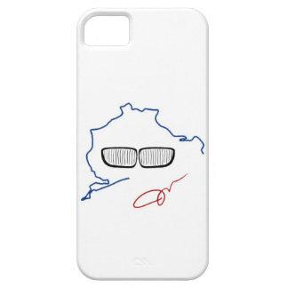 Parrilla del riñón de BMW/edición de Nurburgring iPhone 5 Fundas