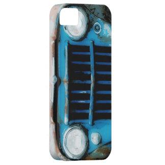 Parrilla fresca del camión del vintage del Grunge iPhone 5 Fundas