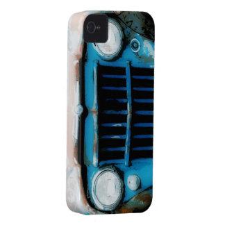 Parrilla fresca del camión del vintage del Grunge Case-Mate iPhone 4 Protectores