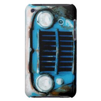 Parrilla fresca del camión del vintage del Grunge iPod Touch Case-Mate Cárcasa
