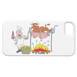 Parrilla grillos BBQ barbecue iPhone 5 Funda