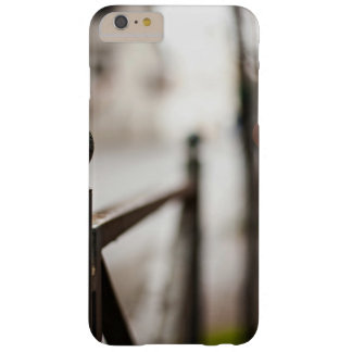 Parrilla temática, una parrilla del hierro funda de iPhone 6 plus barely there