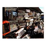 Parrillas del coche - fotografía del arte del Junk Postales
