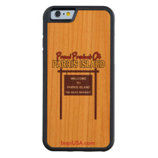 Parris Island iPhone 6 Cherry Wood Case w/ Bumper