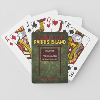 """Parris Island """"We Make Marines"""" Playing Cards"""