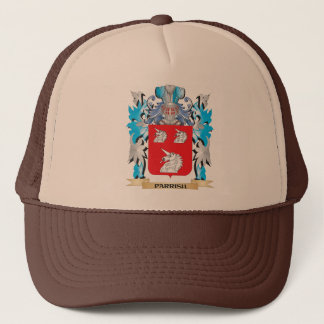 Parrish Coat of Arms - Family Crest Trucker Hat