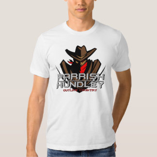 Parrish-Hundley Outlaw Country Basic American Appa T Shirt