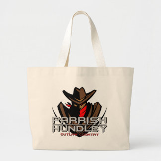 Parrish-Hundley Outlaw Country Jumbo Tote Bags