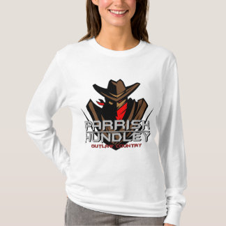 Parrish-Hundley Outlaw Country Ladies Long Sleeve T-Shirt