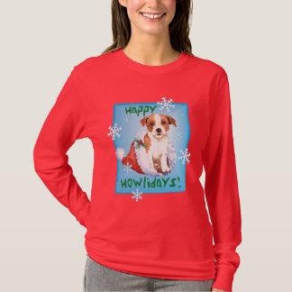 Párroco feliz Russell Terrier de Howliday Playera