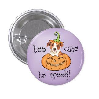 Párroco Russell Terrier de Halloween Pin Redondo De 1 Pulgada