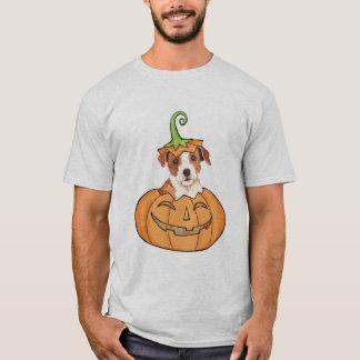 Párroco Russell Terrier de Halloween Playera