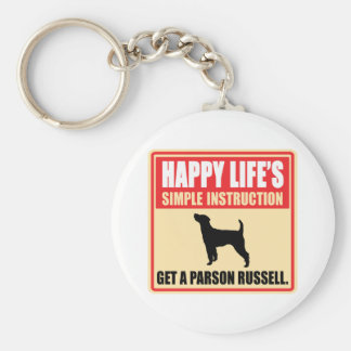 Párroco Russell Terrier Llavero