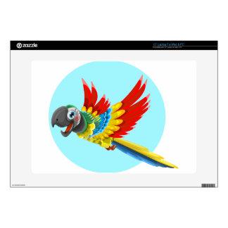 """parrot 15"""" laptop skin"""