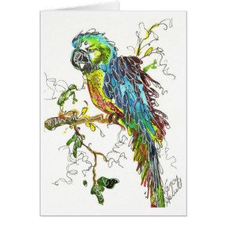 Parrot 1 card