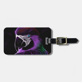 parrot #2 luggage tag