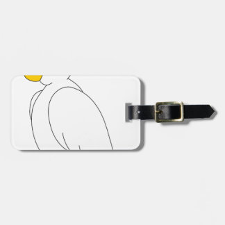 parrot #3 luggage tag