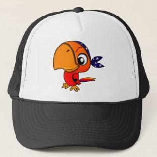 Parrot #3 trucker hat